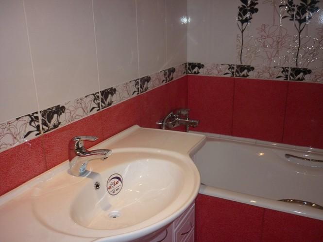 Простой ремонт в ванной фото